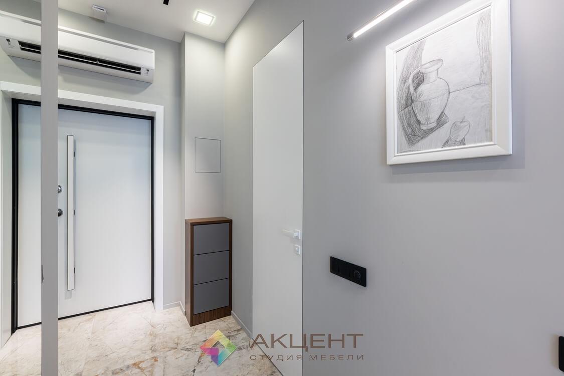мебель для квартиры-студии с гардеробной 15