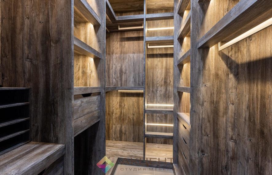 мебель для квартиры-студии с гардеробной 17