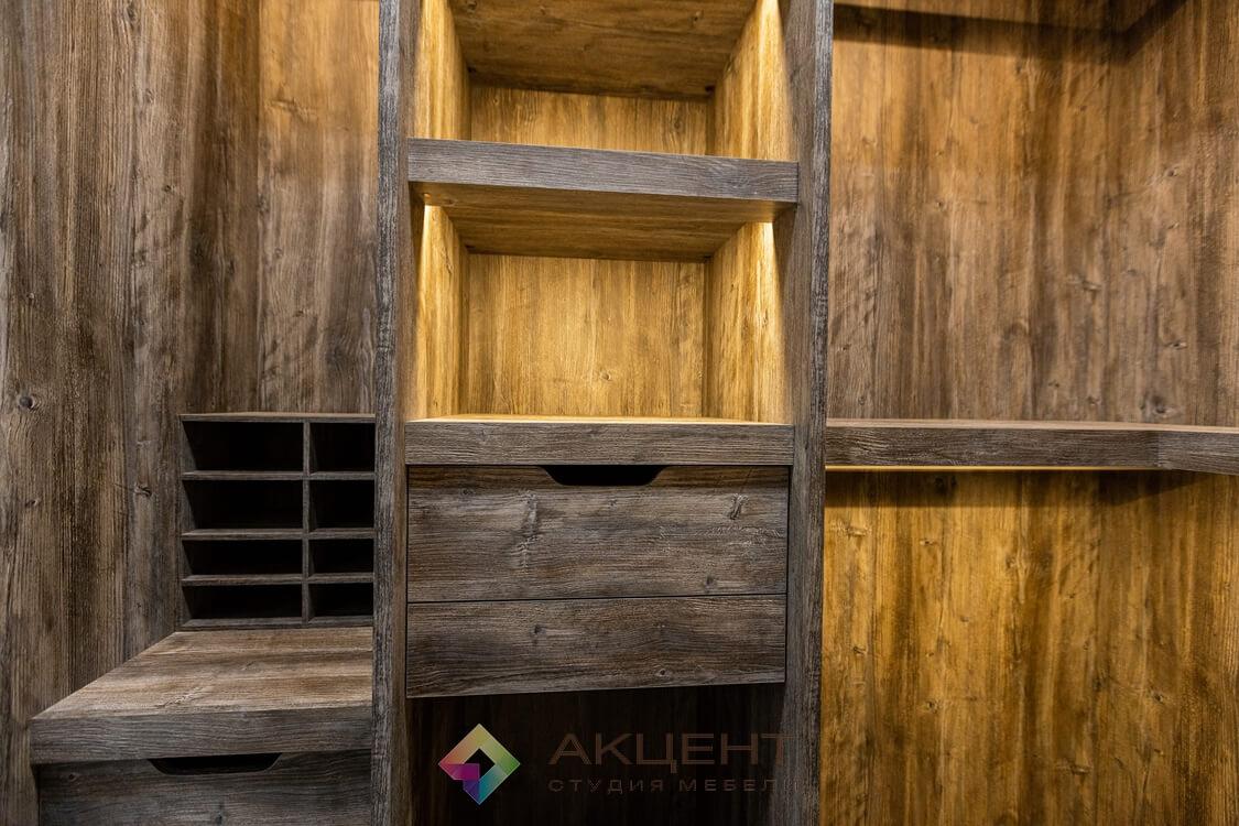 мебель для квартиры-студии с гардеробной 19