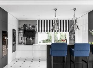 современная П-кухня - проект 117а