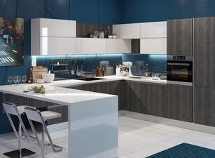 современная П-кухня - проект 131а
