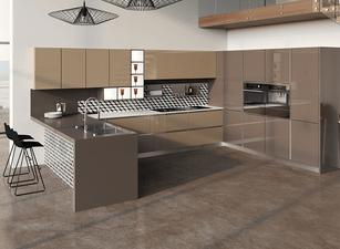 современная П-кухня - проект 133а