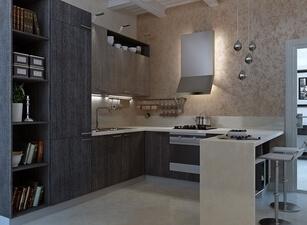 современная П-кухня - проект 139а