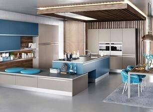 современная П-кухня - проект 142а