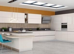 современная П-кухня - проект 145а