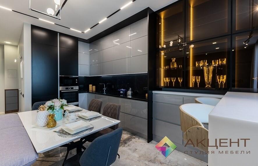 кухня дизайнерская 002